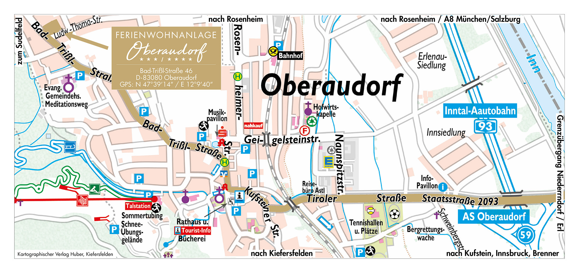 Karte - Oberaudorf